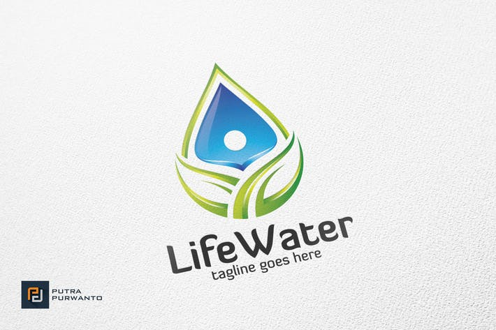 Thumbnail for Life Water - Logo Template