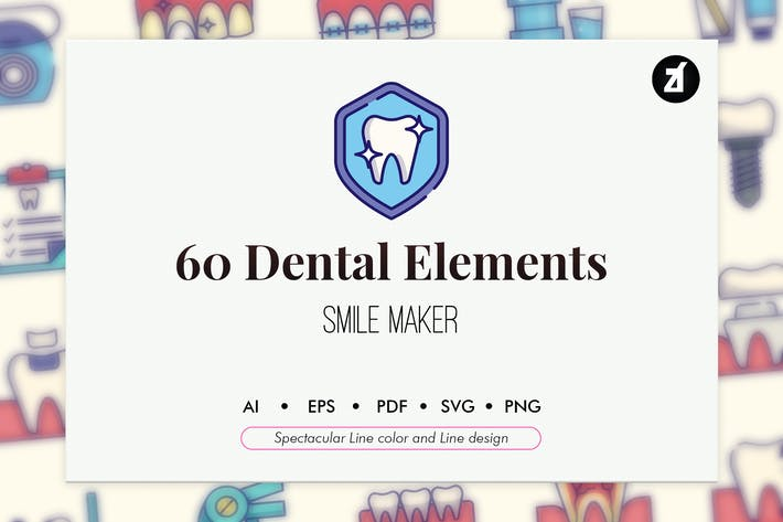 60 Dental clinic elements