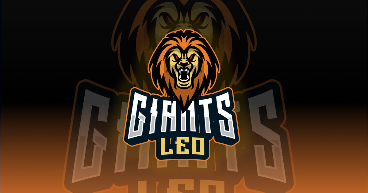 Download Lion Sport and Esport Logo Template by queentype