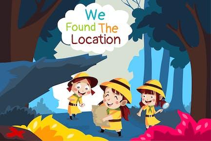 We the location - Illustration