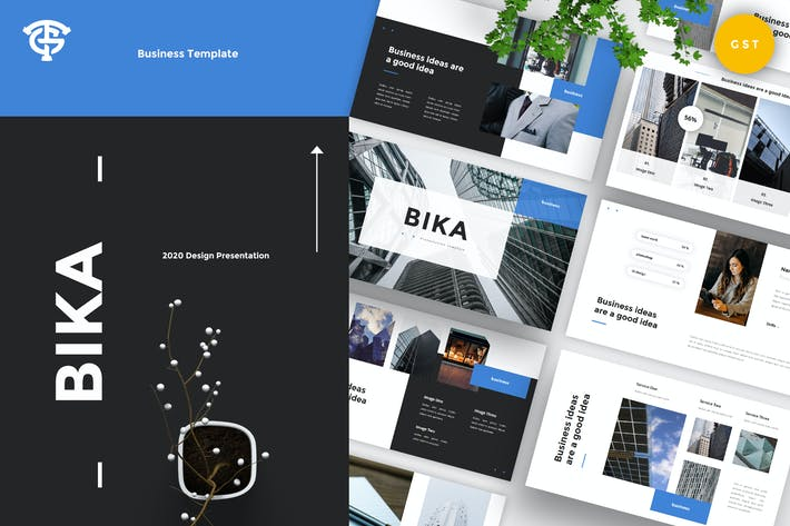 Bika Business - Google Slides