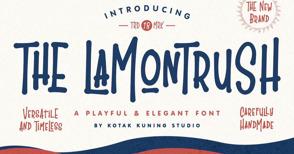 Download The Lamontrush Vintage Font by kotakkuningstudio