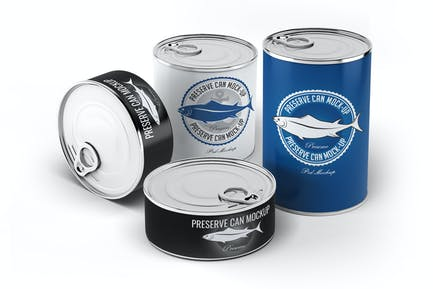 Preserve Can Mock-up