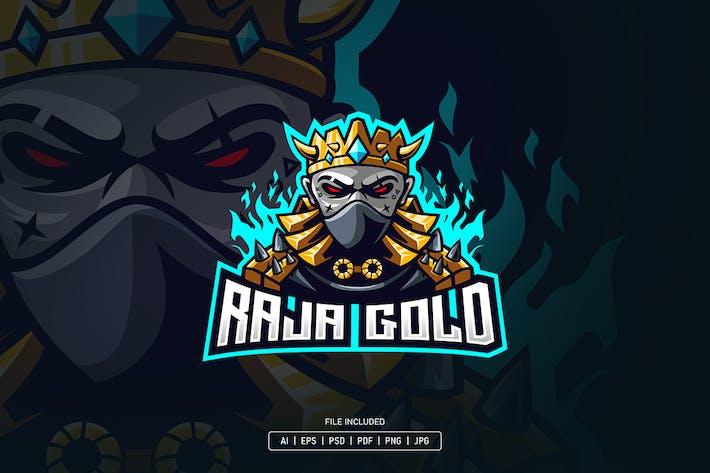 Thumbnail for King gold esport logo