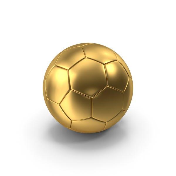 Футбольный мяч Золото