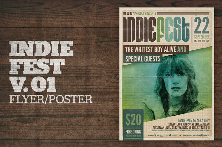 Thumbnail for Indie Fest Poster V01