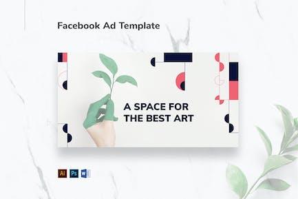 Art Gallery Facebook Ad