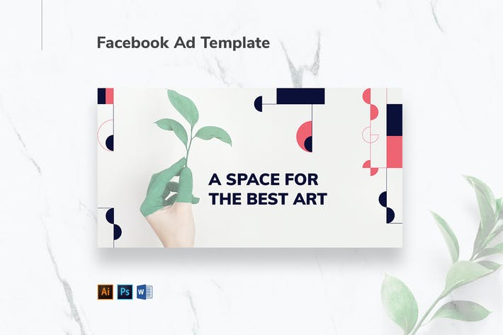 Thumbnail for Art Gallery Facebook Ad