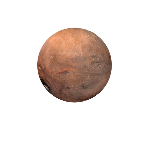 Fictional Orange Planet