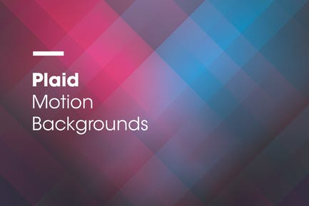 Plaid | Motion Backgrounds