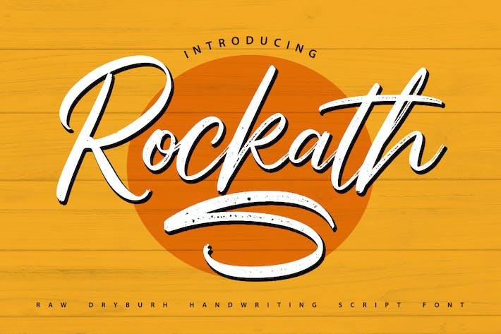 Thumbnail for Rockaths   Fuente de guión de escritura a mano