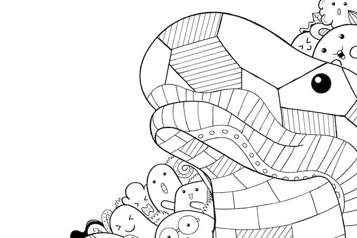 Thumbnail for Komodo Doodle