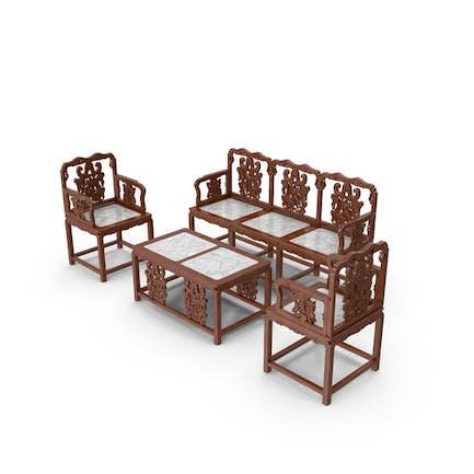 Orientalisches Möbelset