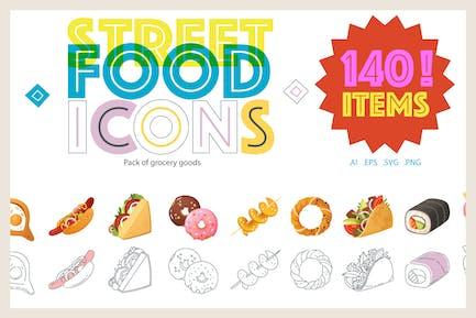 Street Food Icons