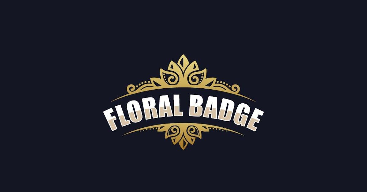 Download Floral Luxury Badge Logo by ivan_artnivora