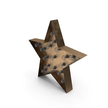 Star Lighting bronce apagado