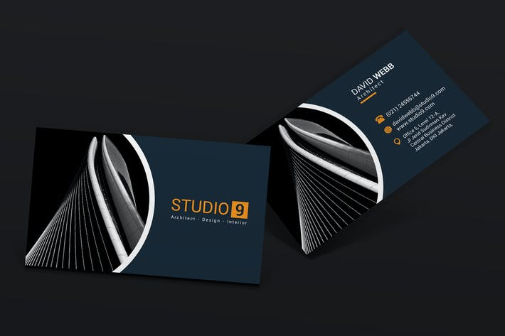 cover image for architect business card - Architect Business Card