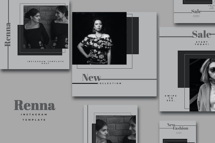 Thumbnail for Renna - Fashion Social Media Part.20