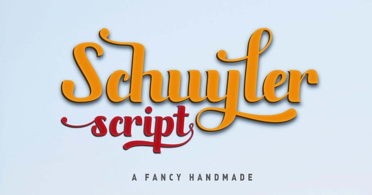 Download Schuyler script by Areatype