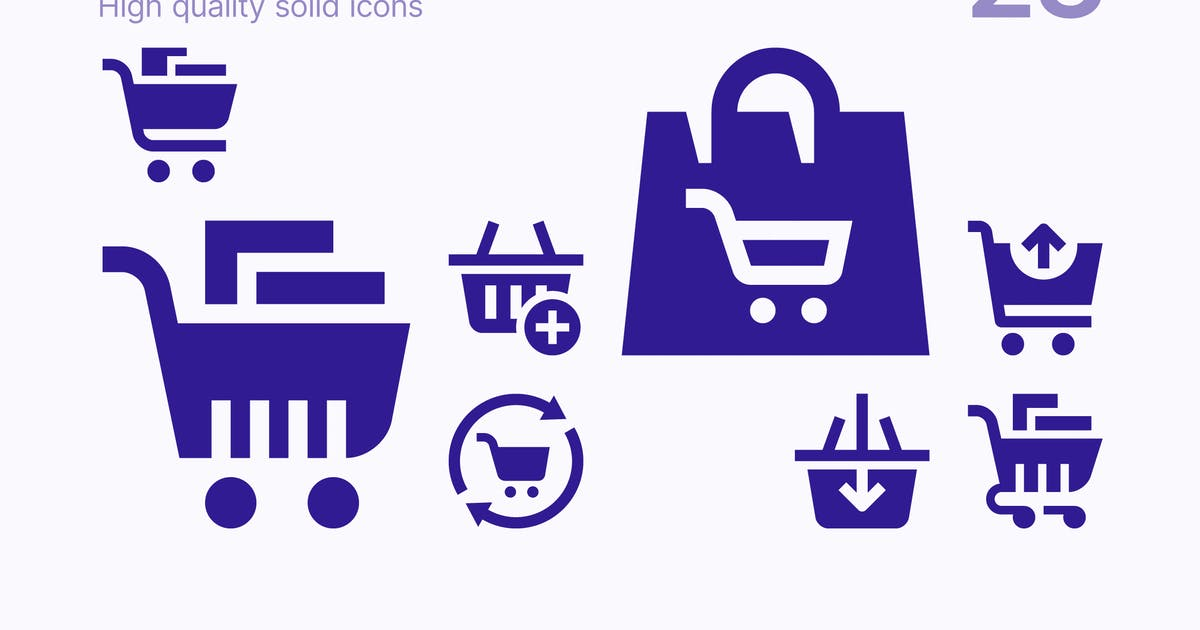 Download Shopping Cart and Basket Icons by polshindanil