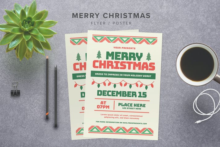 Thumbnail for Merry Christmas Flyer
