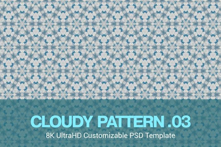Thumbnail for 8K UltraHD Seamless Cloudy Pattern Background
