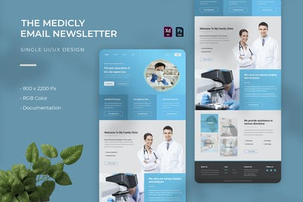 Medicly   Email Newsletter