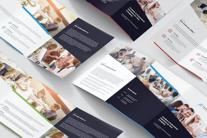 Thumbnail for Brochure – Creative Startup Studio Tri-Fold