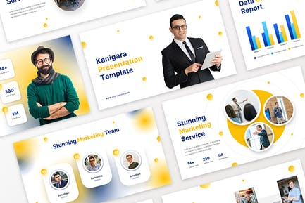 Kanigara - Marketing Google slides Template