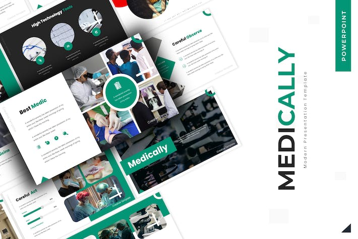 Thumbnail for Medically - Powerpoint Template
