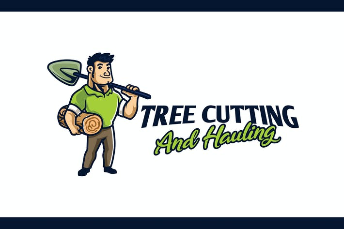 Thumbnail for Tree Cutting and Debris Hauling -  Gardener Logo