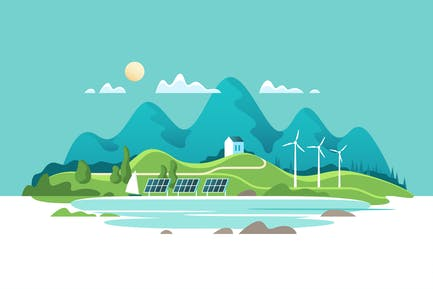 Concept of Green Renewable Energy