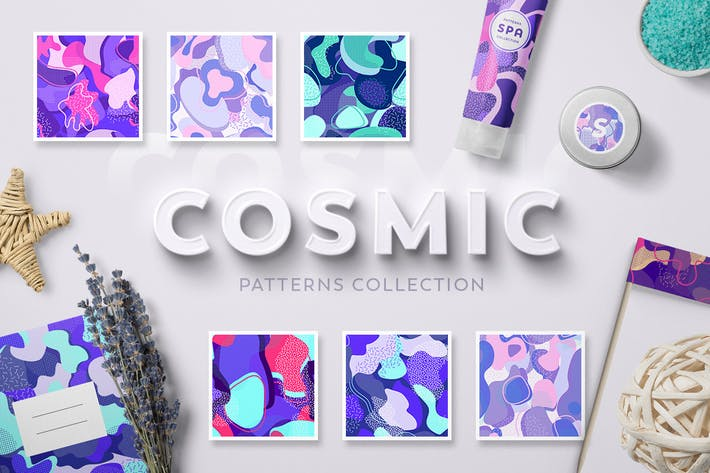 Thumbnail for Cosmic Patterns Collection