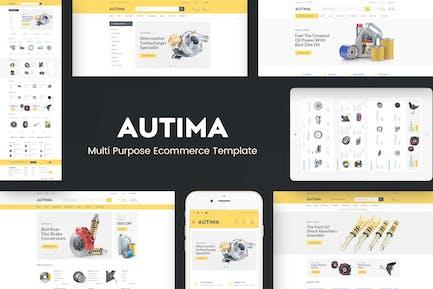 Autima - Car Accessories Theme for WordPress