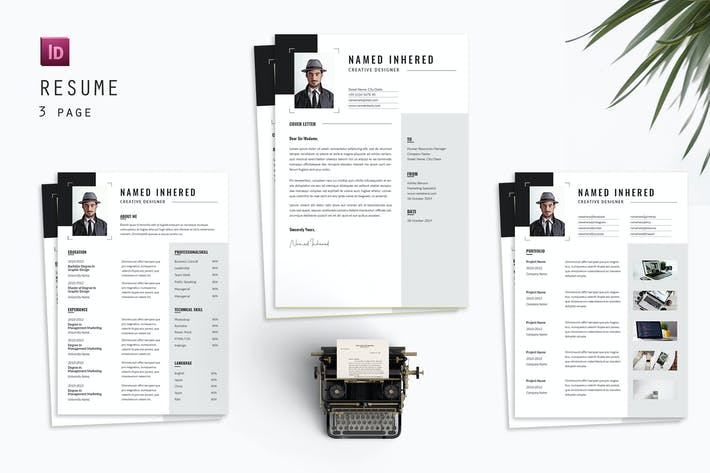 Thumbnail for Cover Letter Resume Designer