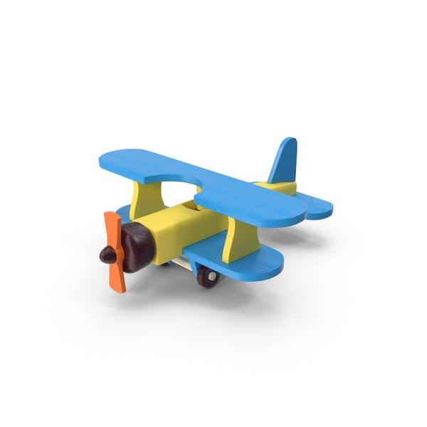 Деревянные игрушки самолет