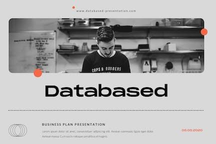 Databased Business Plan Google Slide Presentation