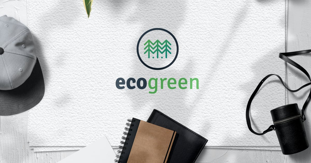 Download Eco Green Logo Template by Be_Themes