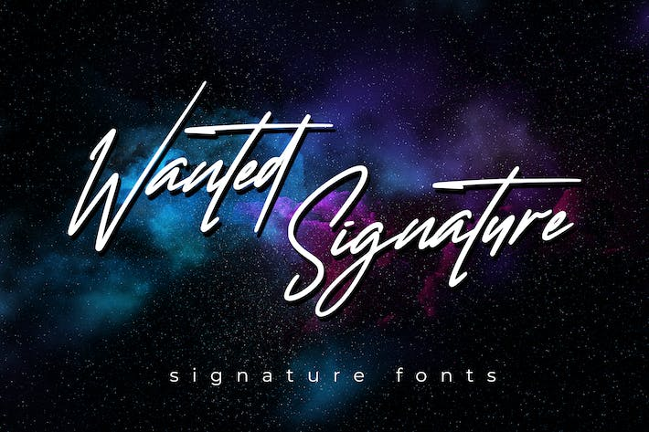 Thumbnail for Wanted Signature