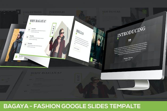 Thumbnail for Bagaya - Fashion Google Slides Template