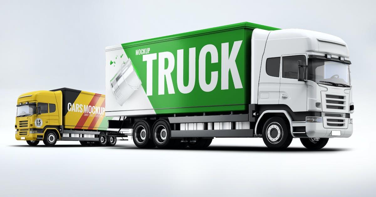 Download Cargo Truck Mock-Up by L5Design