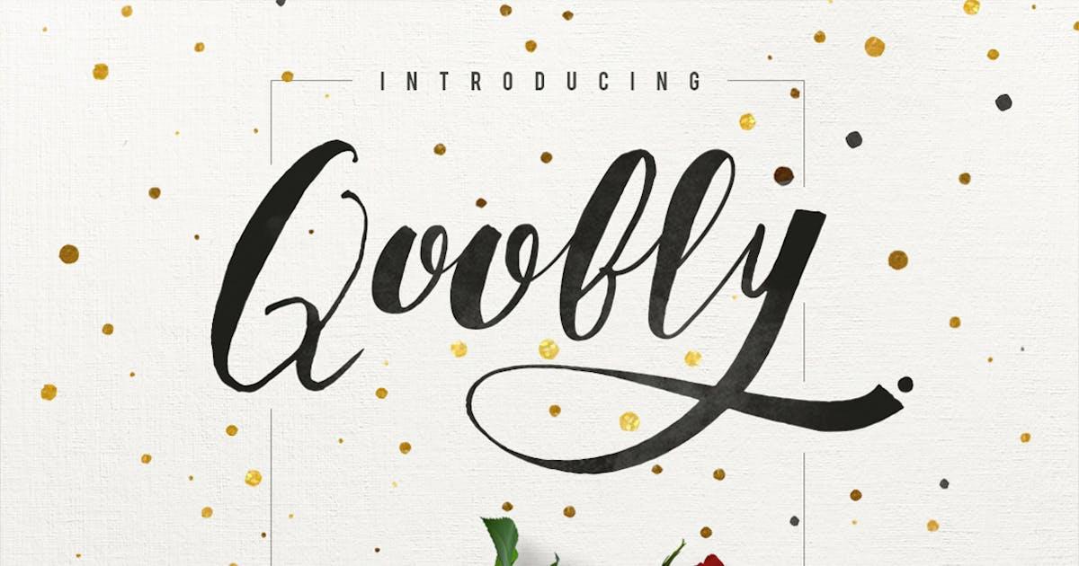 Download Qoobly Typeface by maulanacreative