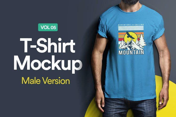 Thumbnail for T-Shirt Mockup 05