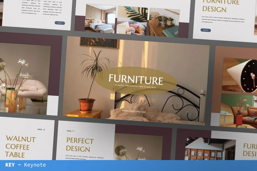 Дизайн мебели Keynote бизнес