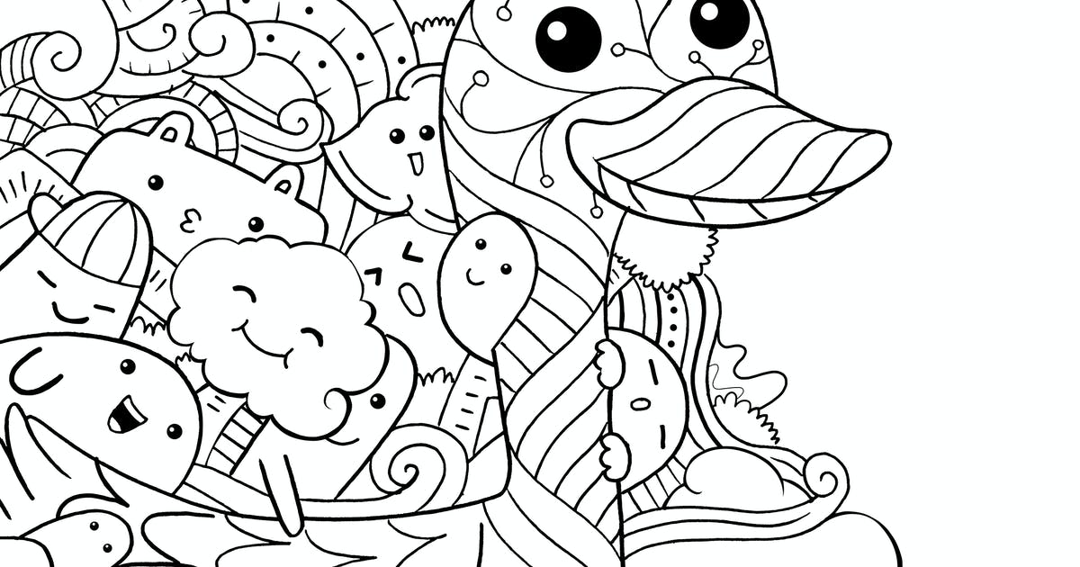 Download Duck Doodle by medzcreative