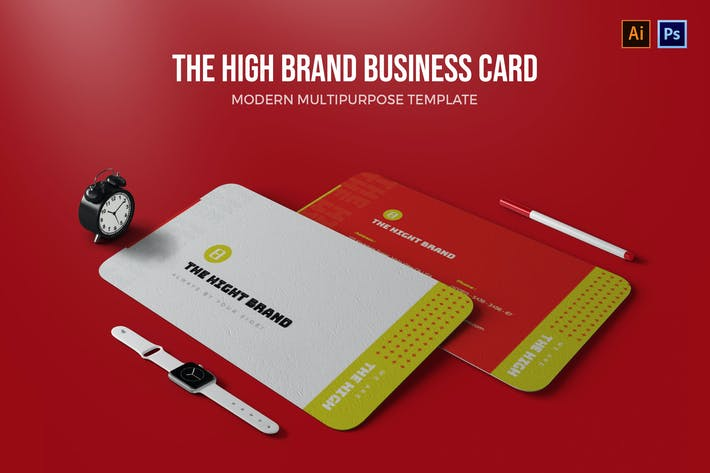 The High Brand - Business Card