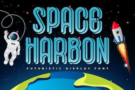 Space Harbon - Futuristic Display Font