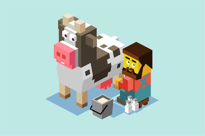 Thumbnail for Milking a cow