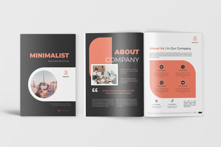Thumbnail for Minimalist - Business Proposal Template