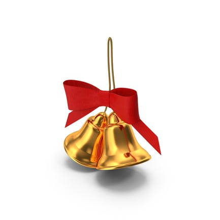 Holiday Christmas Bell with Bow